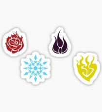 RWBY Team RWBY Emblems Variety Pack 1 Sticker