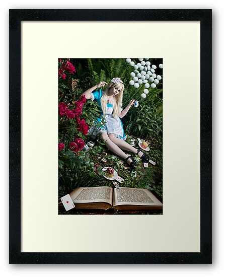 ALICE IN WONDERLAND by jamari  lior