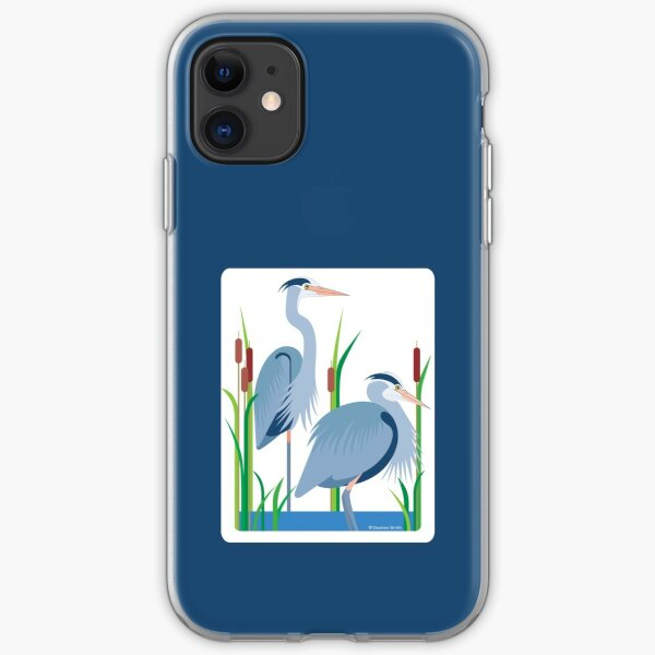 Great Blue Herons #1 iPhone Soft Case