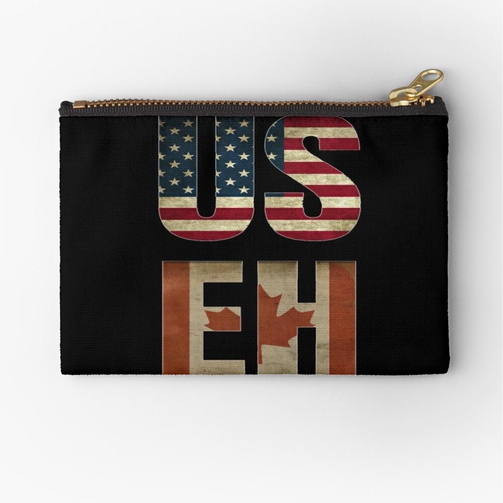 USA Canada Allies Zipper Pouch