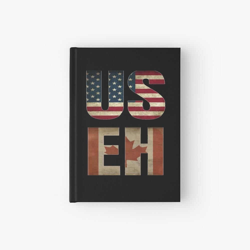 USA Canada Allies Hardcover Journal