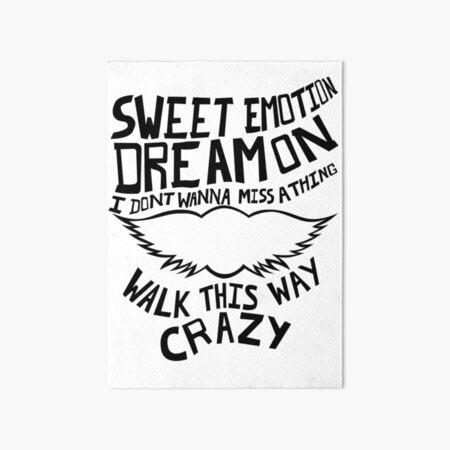 Aerosmith - Songs Art Board Print