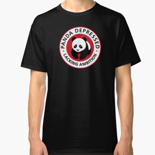 Panda Depressed Classic T-Shirt