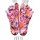 Free Your Feet - Pink by Jay Taylor