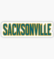 Welcome to Sacksonville! Sticker