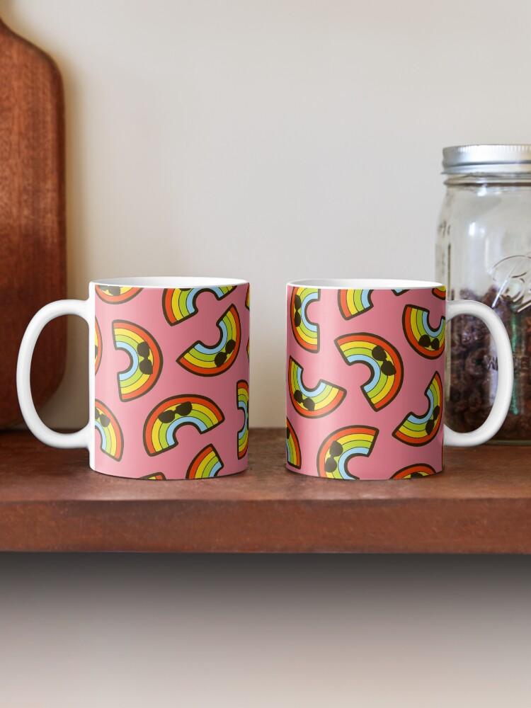 Alternate view of Cool Rainbow Pattern Mug