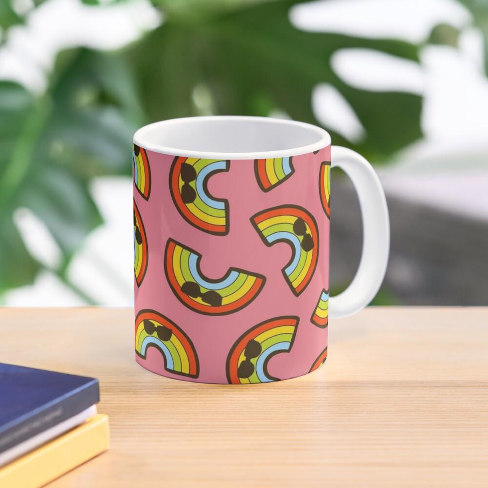 Cool Rainbow Pattern Mug