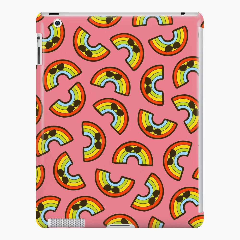 Rainbow Pride Pattern iPad Snap Case