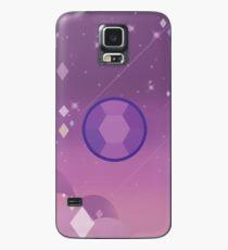 Amethyst Hülle & Klebefolie für Samsung Galaxy