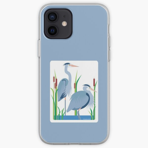 Great Blue Herons #3 iPhone Soft Case