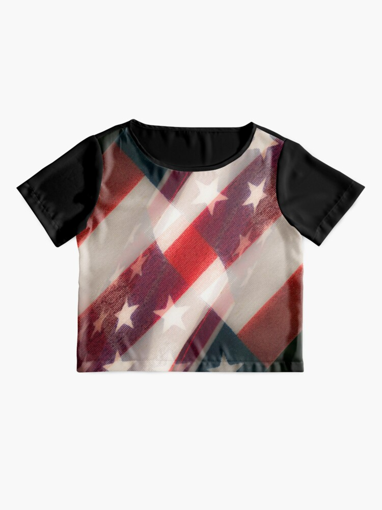 Alternate view of Stars And Stripes Chiffon Top