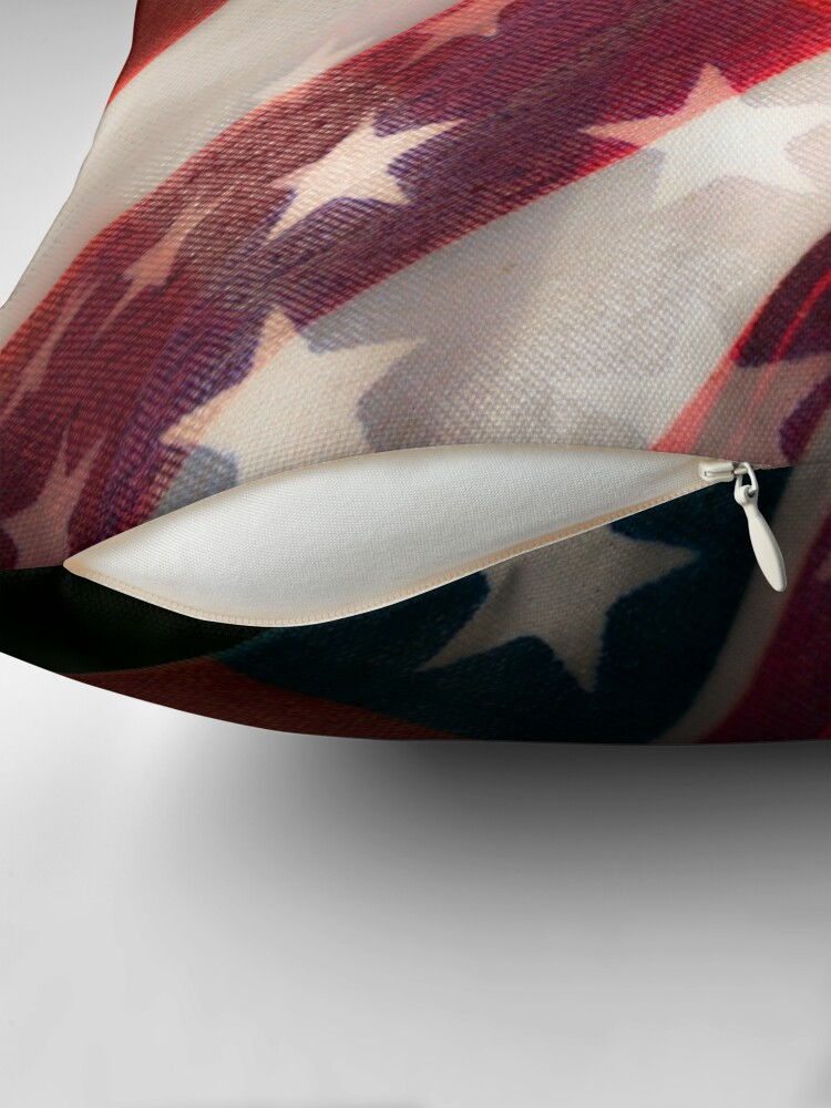 Alternate view of Stars And Stripes Throw Pillow