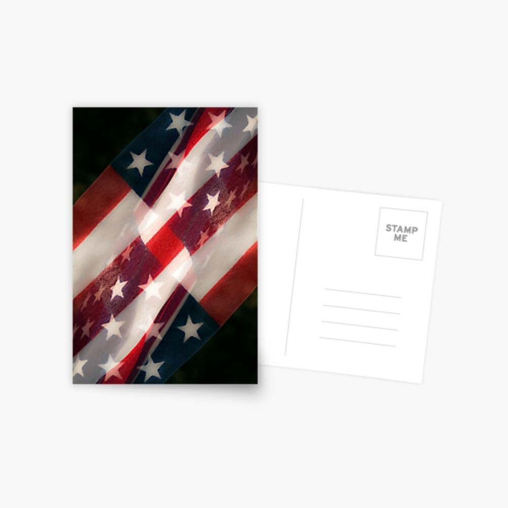 Stars And Stripes Postcard