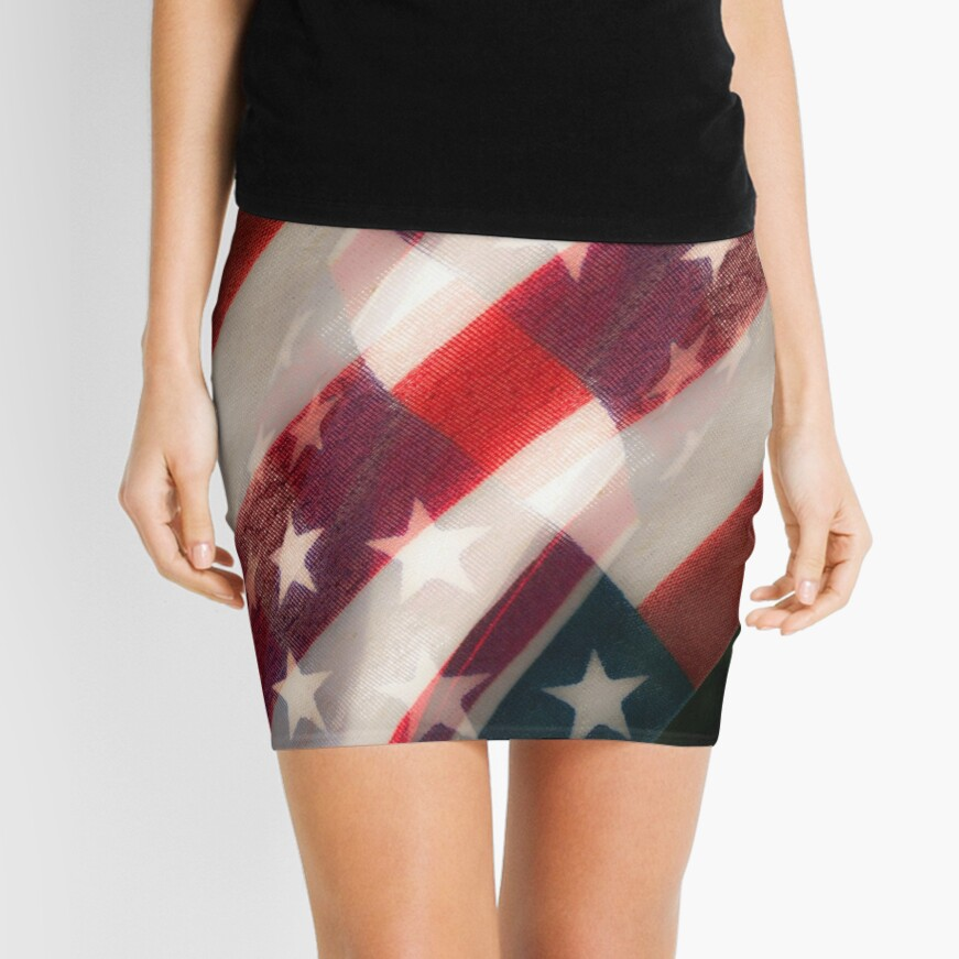 Stars And Stripes Mini Skirt