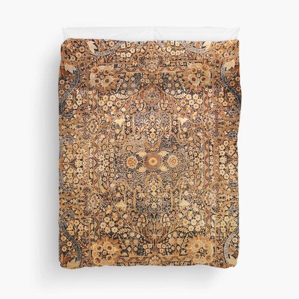 Antique Persian Kirman Rug Print Duvet Cover