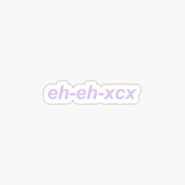 charli eh-eh-xcx Sticker