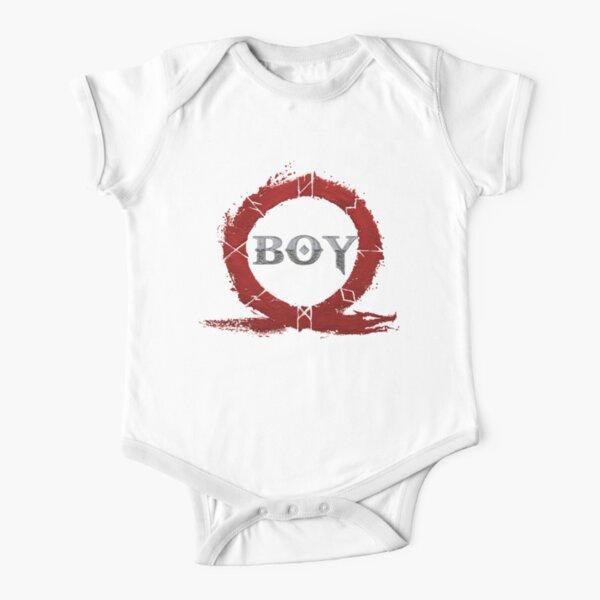 BOY : God of War Short Sleeve Baby One-Piece