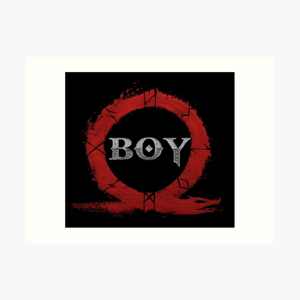 BOY : God of War Art Print