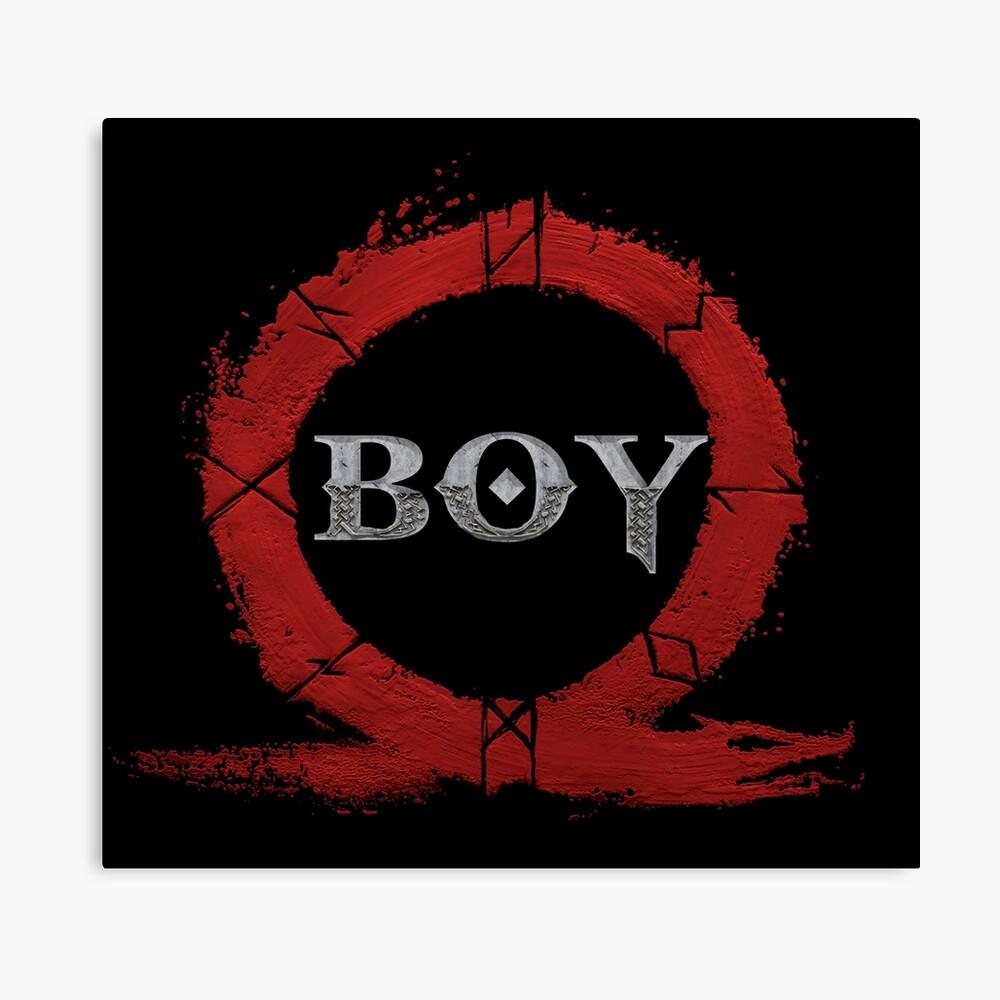 BOY : God of War Canvas Print
