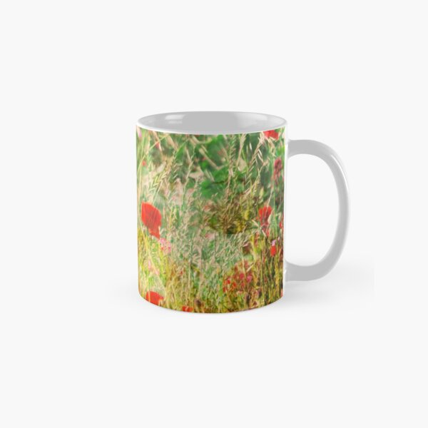 Poppies on Que Classic Mug