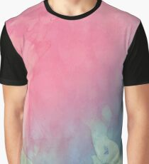 Pink water color Graphic T-Shirt