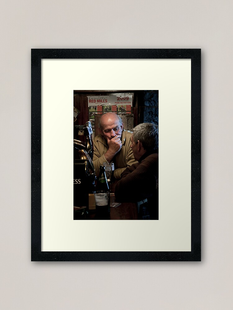 Alternate view of The Pub Framed Art Print