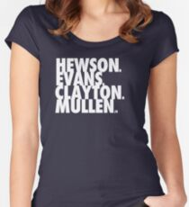 Hewson Evans Clayton and Mullen Women's Fitted Scoop T-Shirt