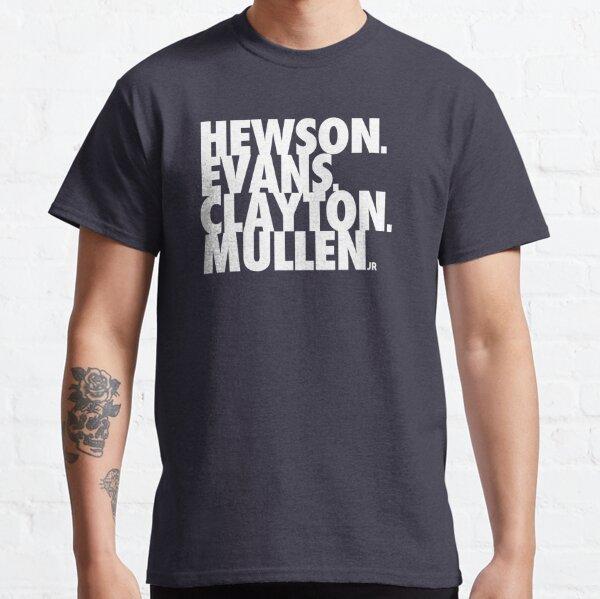 Hewson Evans Clayton y Mullen Camiseta clásica