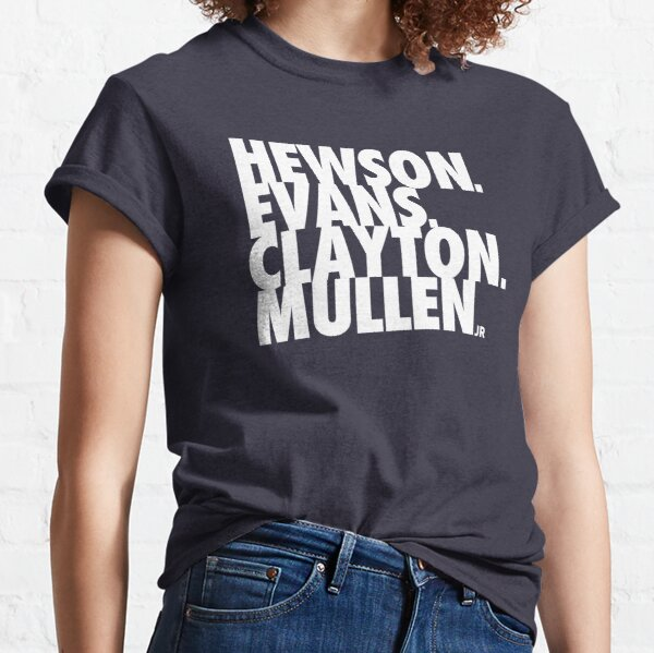 Hewson Evans Clayton and Mullen Classic T-Shirt