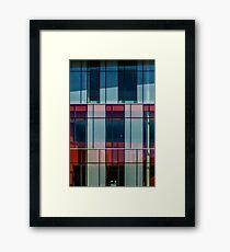 Mondrian Architecture Framed Print