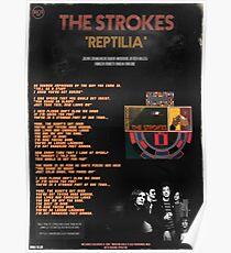 The Strokes: Reptilia Poster