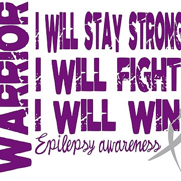 Warrior.  I will stay strong. by adorkablemary