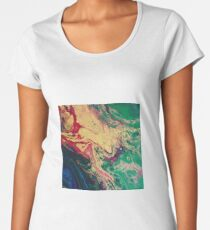 Super Psychedelic Painting Women's Premium T-Shirt