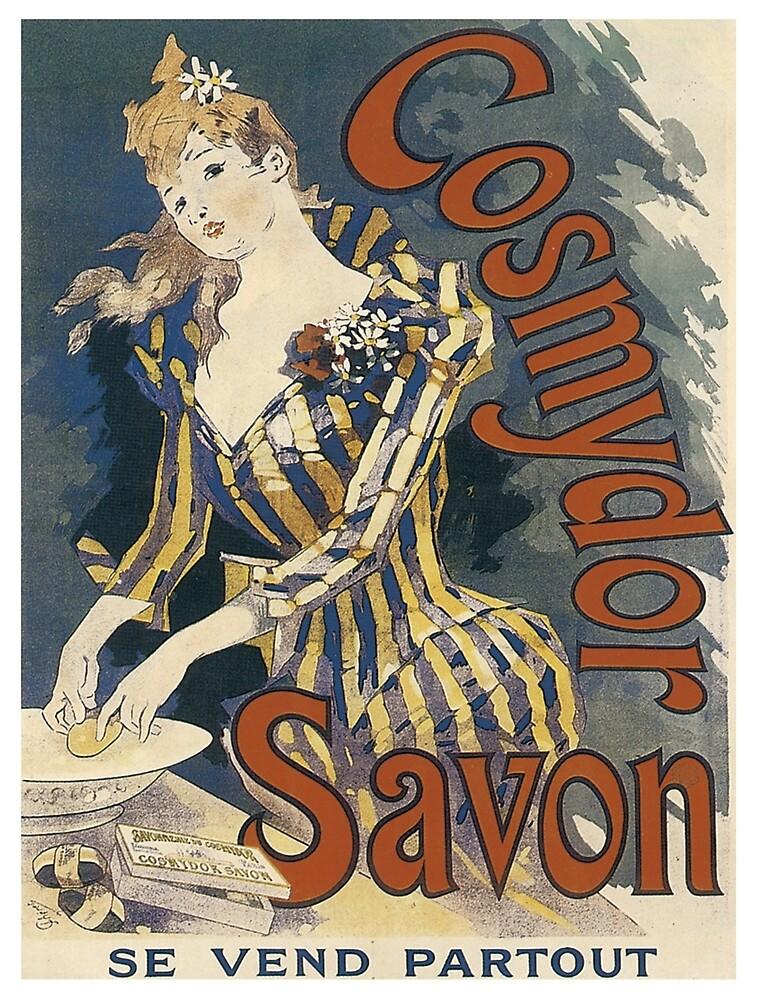 Vintage poster - Cosmydor Savon by mosfunky