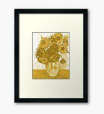 Yellow Van Gogh Sunflowers Framed Print