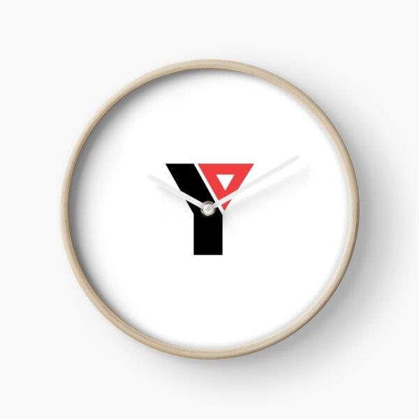 YMCA old logo Clock
