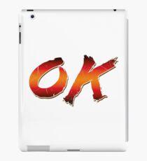 Okay (Arcade style) iPad Case/Skin