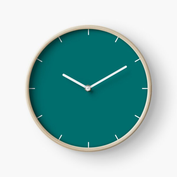 Quetzal Green 18-5025 TCX | Pantone | Color Trends | New York and London | Fall Winter 2018 | Solid Color | Fashion Colors | Clock
