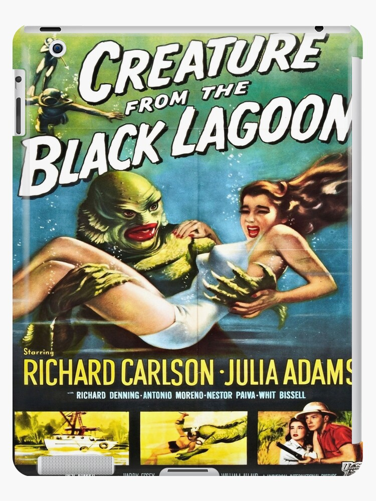 """Creature From The Black Lagoon Vintage Horror Movie Silk Fabric Poster 27/""""x40/"""""""