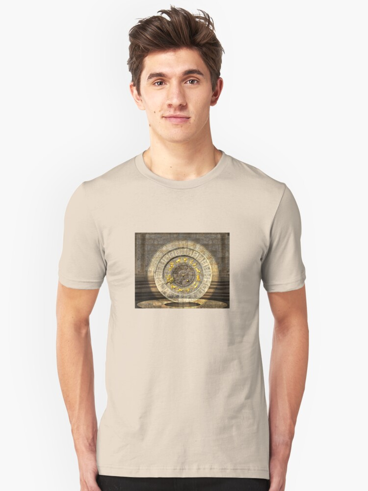 The vault of Time Unisex T-Shirt Front