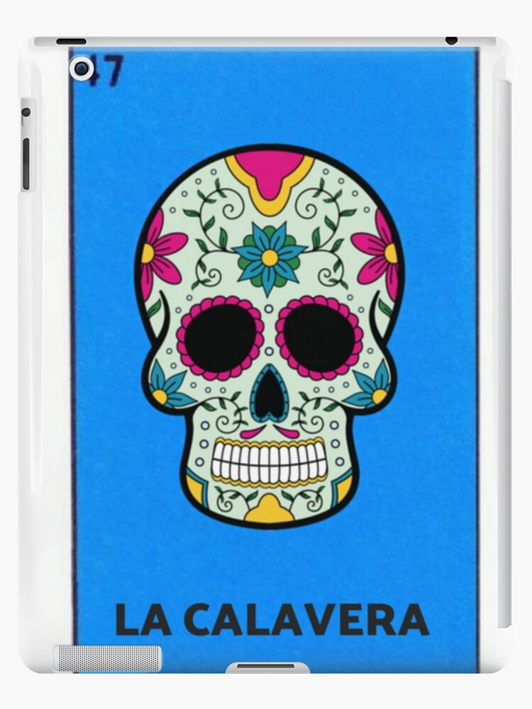 photo relating to Loteria Cards Printable referred to as La Calavera Mexican Loteria Bingo Card iPad Situation/Pores and skin by way of casadeloteria