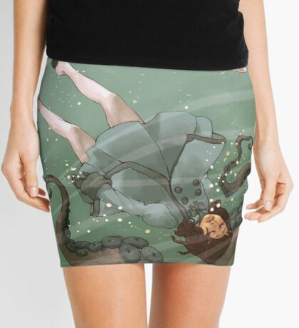 Falling, Drowning Mini Skirt