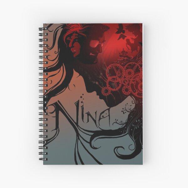 Nina Cover Art Spiral Notebook