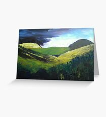 Spring Sunshine, Yorkshire Dales Greeting Card