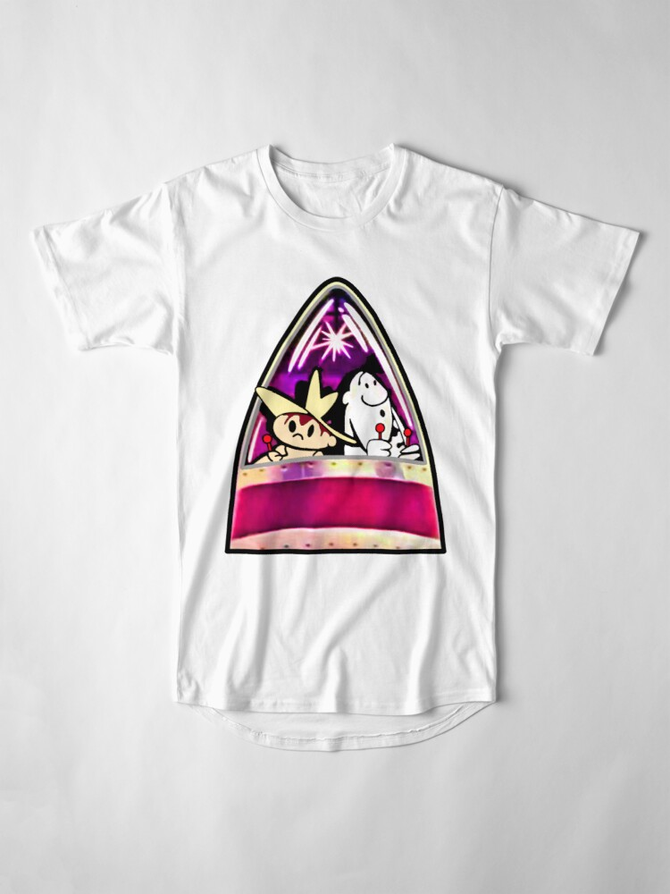 Alternate view of Ready for Blast-Off, Scratch & Squeak  Long T-Shirt