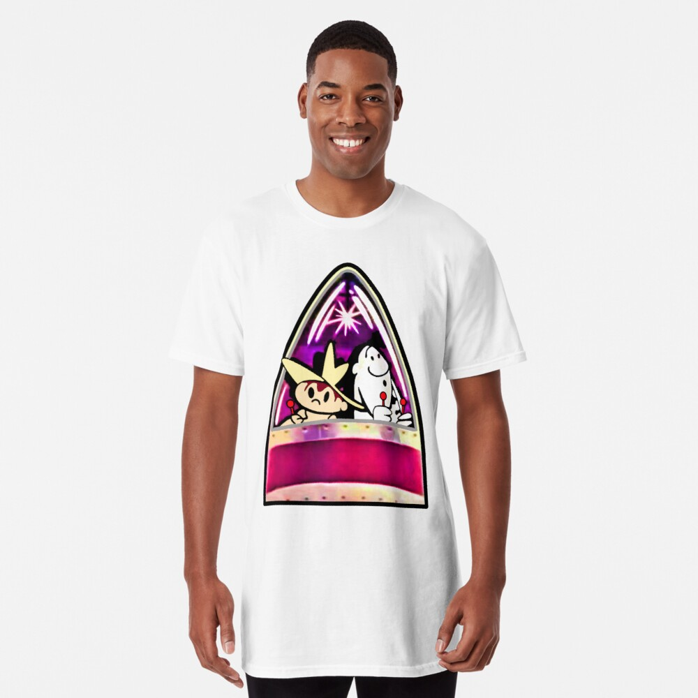 Ready for Blast-Off, Scratch & Squeak  Long T-Shirt