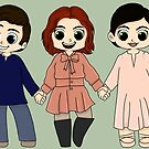 Once Upon A Time Cast by CapnMarshmallow