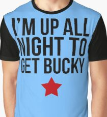 Up All Night To Get Bucky Graphic T-Shirt