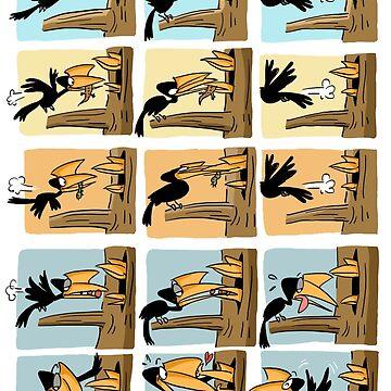 The Hornbill Dad by rohanchak