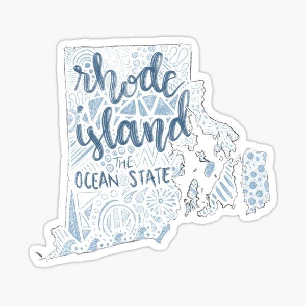 Rhode Island State Design Sticker